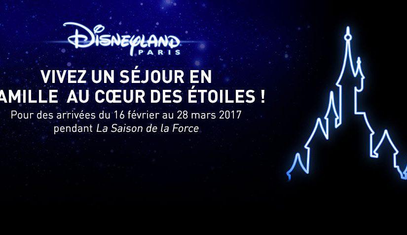 Vivez un séjour à Disneyland au cœur des étoiles avec Voyage Privé